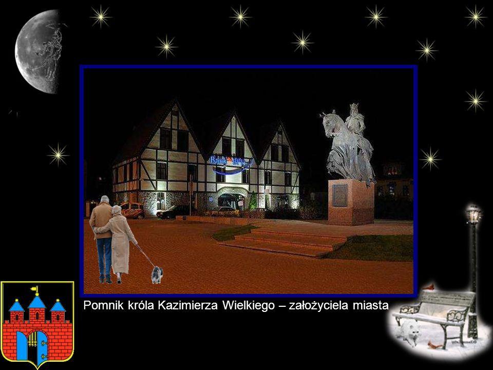 Pomnik króla Kazimierza Wielkiego – założyciela miasta