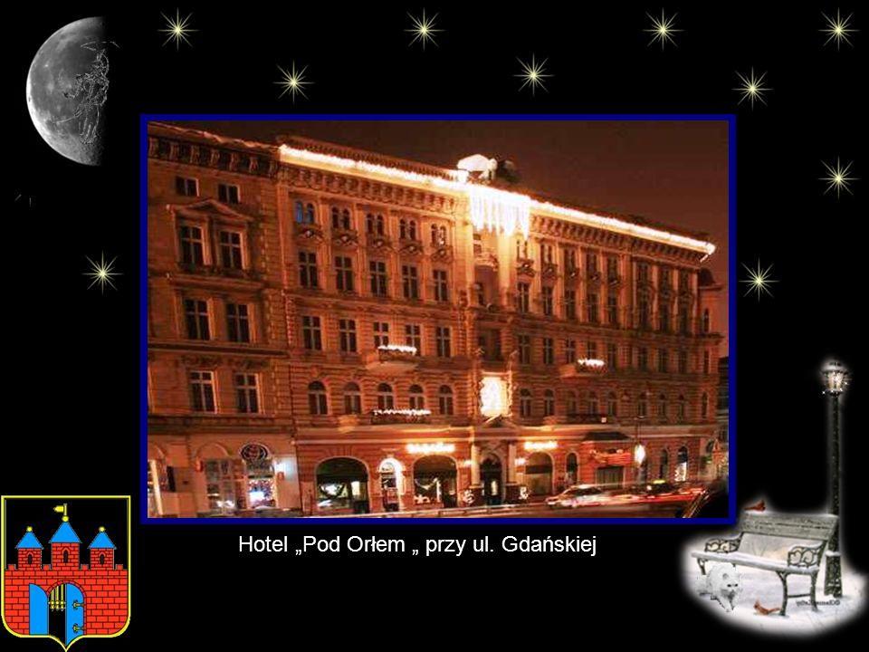 """Hotel """"Pod Orłem """" przy ul. Gdańskiej"""