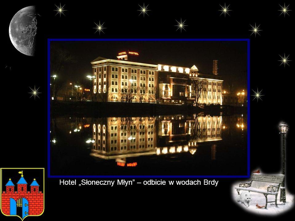 """Hotel """"Słoneczny Młyn – odbicie w wodach Brdy"""