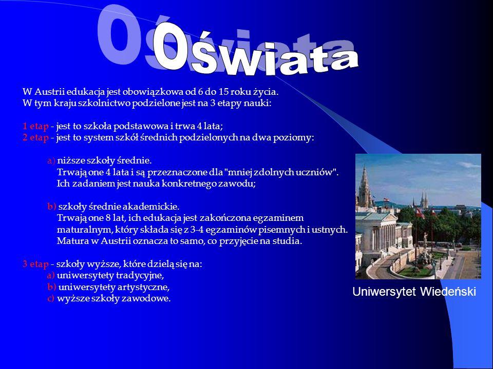 Oświata Uniwersytet Wiedeński
