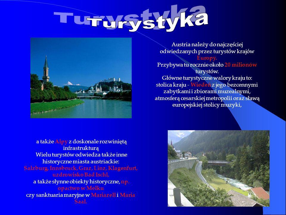 Salzburg, Innsbruck, Graz, Linz, Klagenfurt,