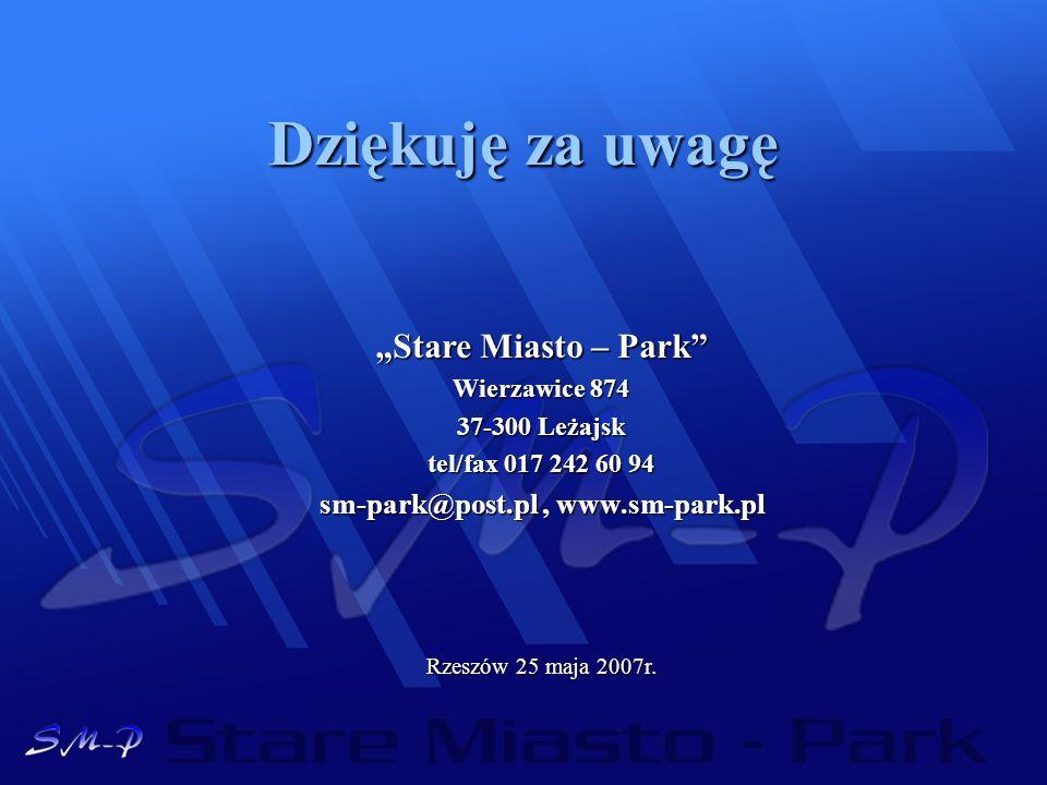sm-park@post.pl , www.sm-park.pl
