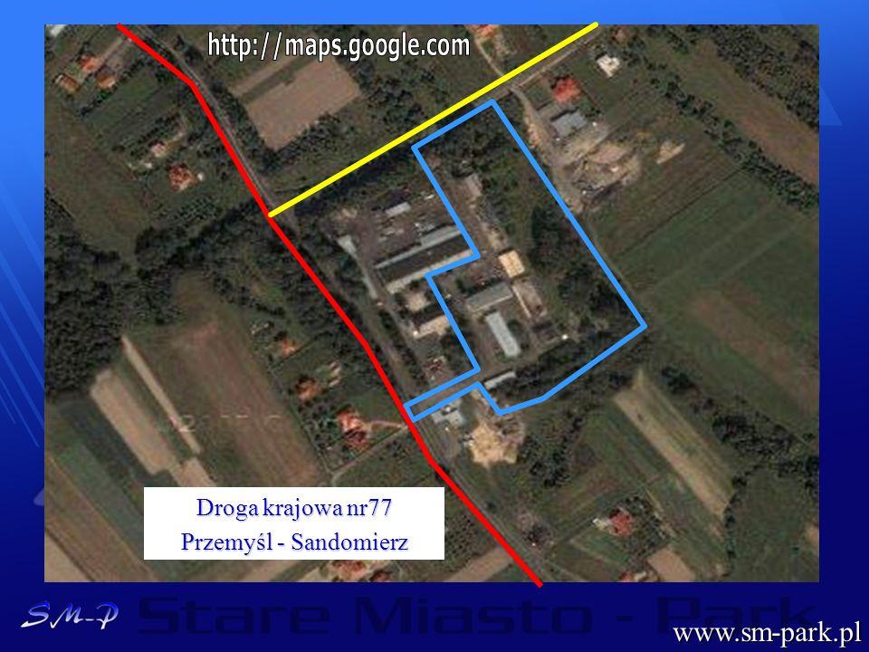 www.sm-park.pl http://maps.google.com Droga krajowa nr77