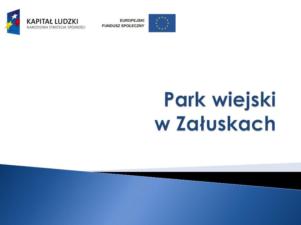 Park wiejski w Załuskach