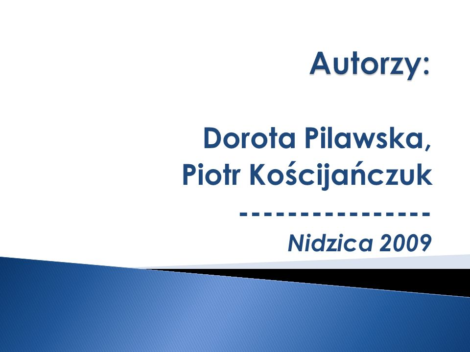 Dorota Pilawska, Piotr Kościjańczuk ---------------- Nidzica 2009