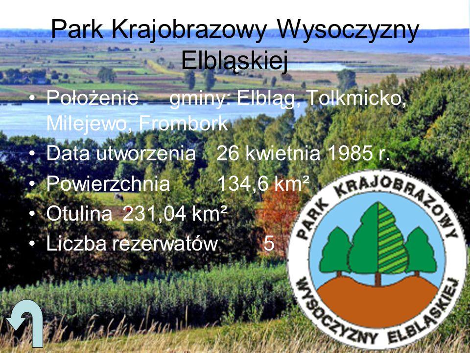 Park Krajobrazowy Wysoczyzny Elbląskiej