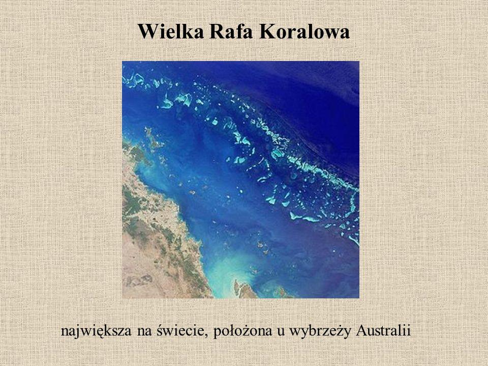 największa na świecie, położona u wybrzeży Australii