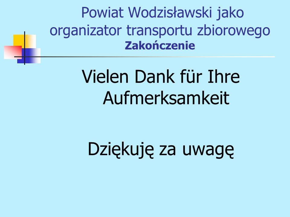 Powiat Wodzisławski jako organizator transportu zbiorowego Zakończenie