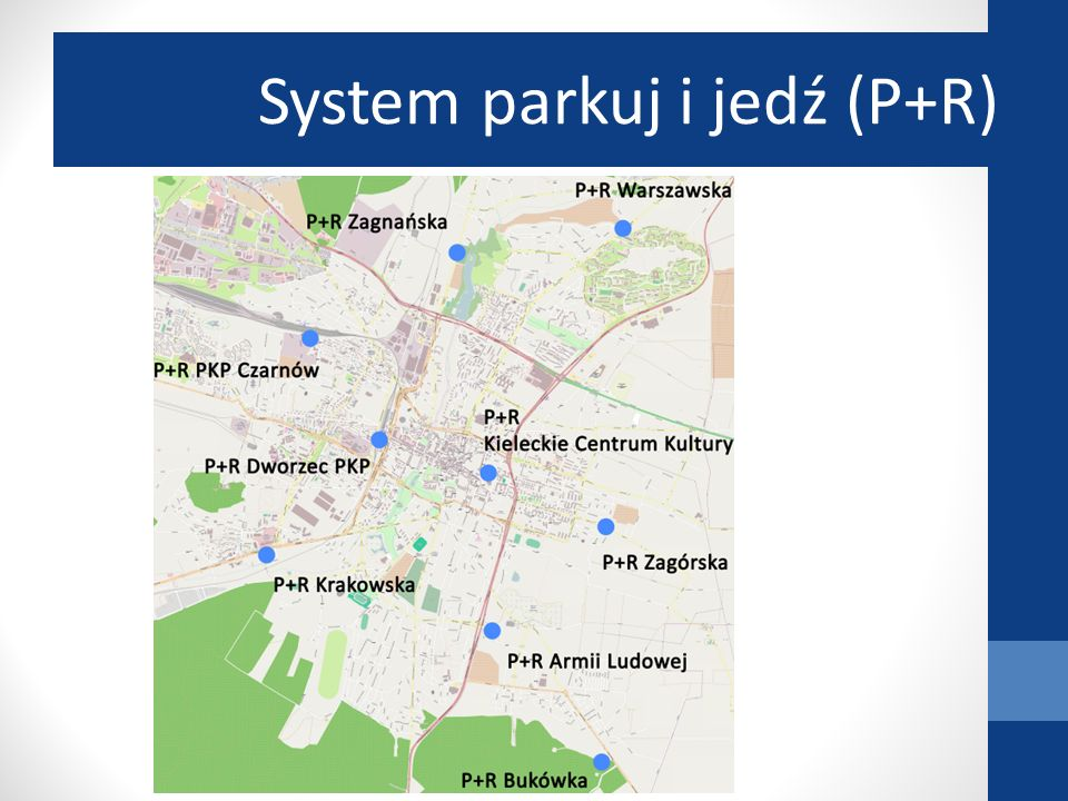 System parkuj i jedź (P+R)