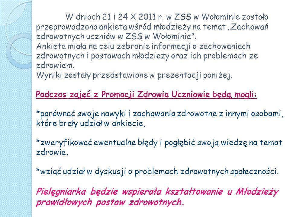 W dniach 21 i 24 X 2011 r.