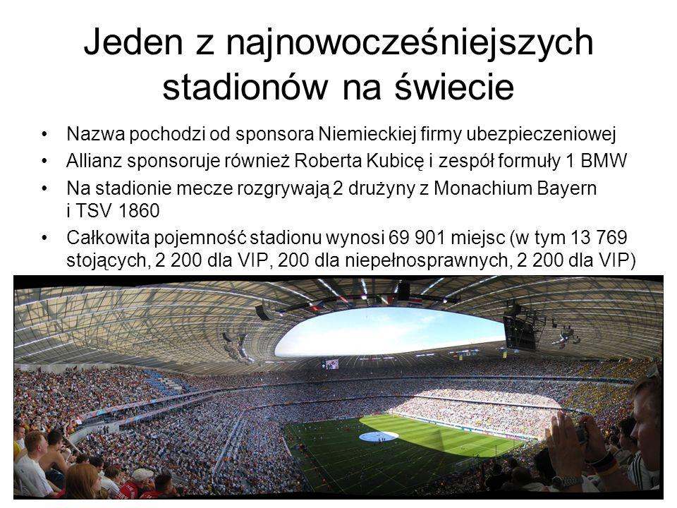 Jeden z najnowocześniejszych stadionów na świecie