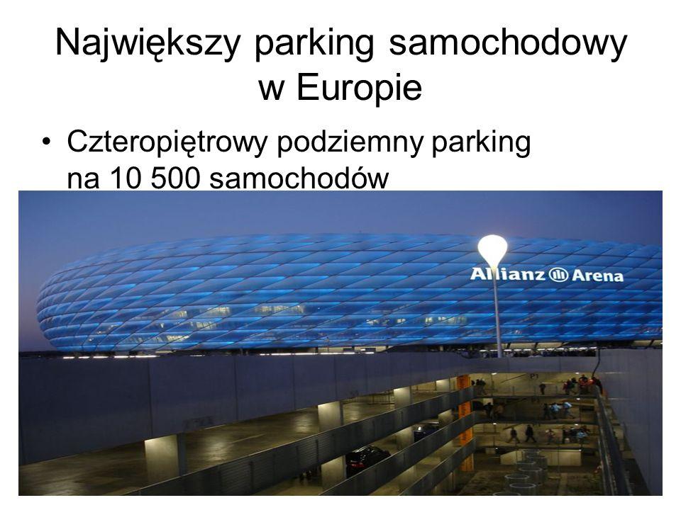 Największy parking samochodowy w Europie