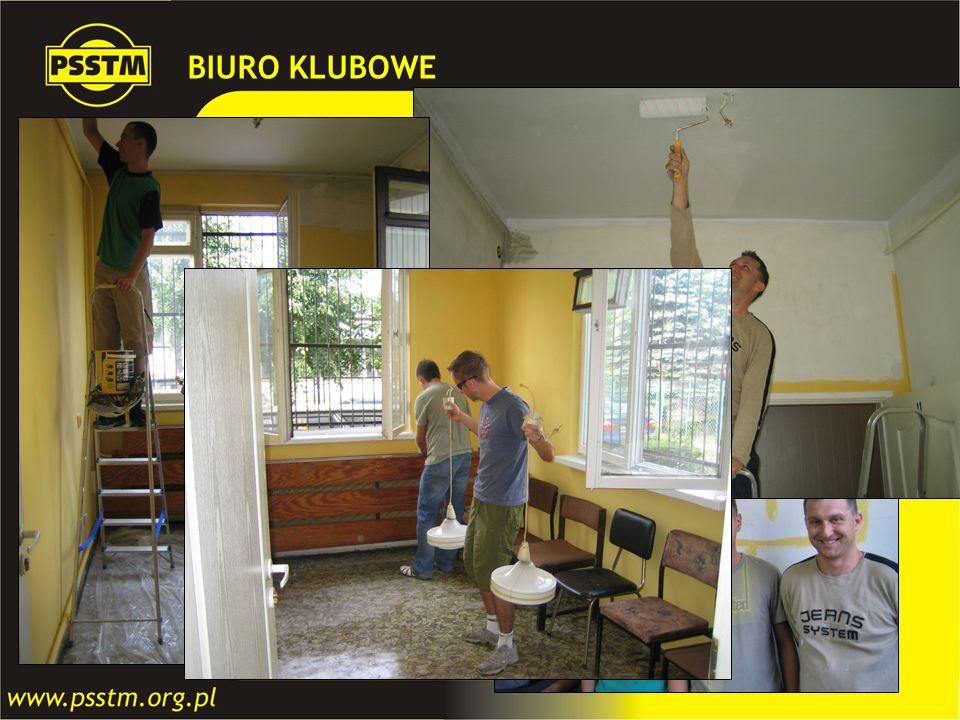BIURO KLUBOWE W ramach umowy z Zakładem Komunikacji Miejskiej w Gdańsku. otrzymaliśmy niewielkie pomieszczenie biurowe na cele.