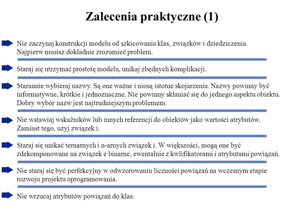 Zalecenia praktyczne (1)