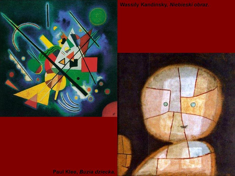 Wassily Kandinsky, Niebieski obraz.