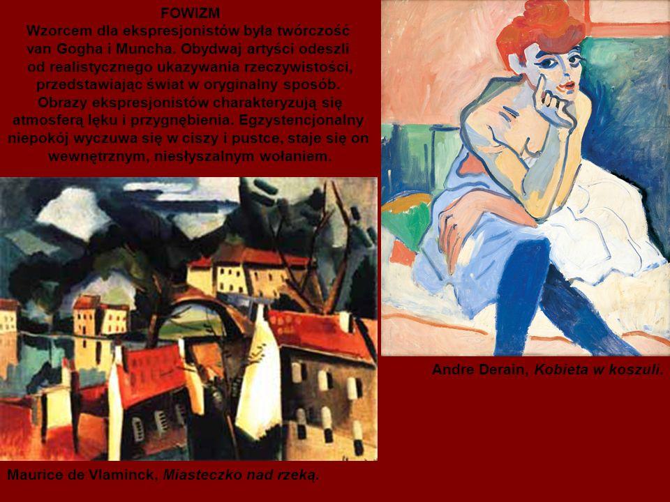 Wzorcem dla ekspresjonistów była twórczość
