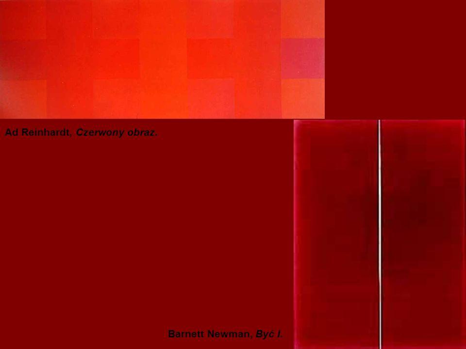Ad Reinhardt, Czerwony obraz.
