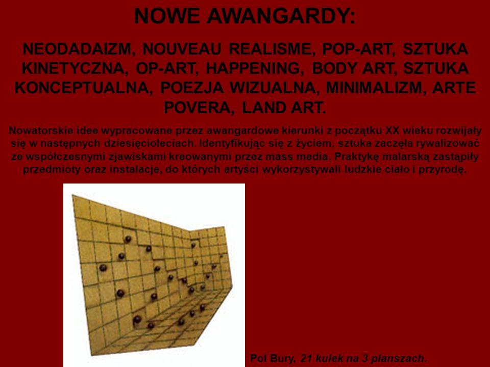 NOWE AWANGARDY:
