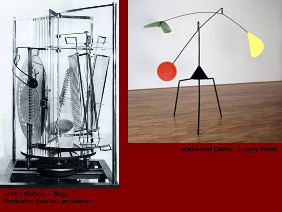 Alexander Calder, Stojący mobil.