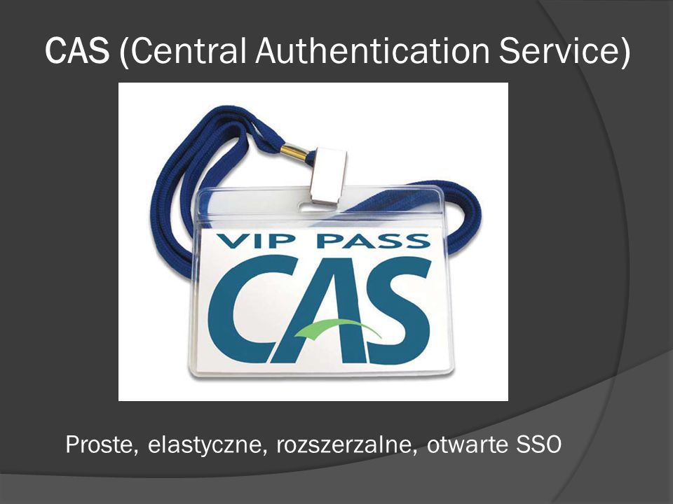 CAS (Central Authentication Service)