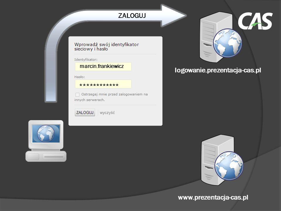 ZALOGUJ logowanie.prezentacja-cas.pl www.prezentacja-cas.pl