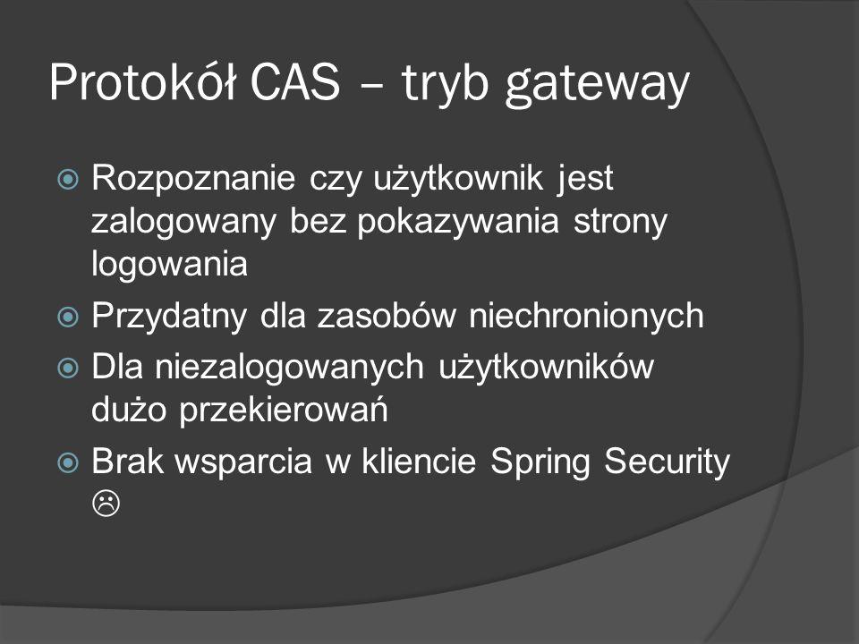 Protokół CAS – tryb gateway