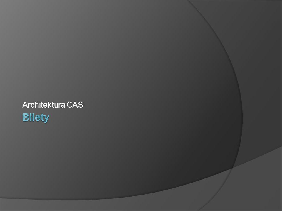 Bilety Architektura CAS