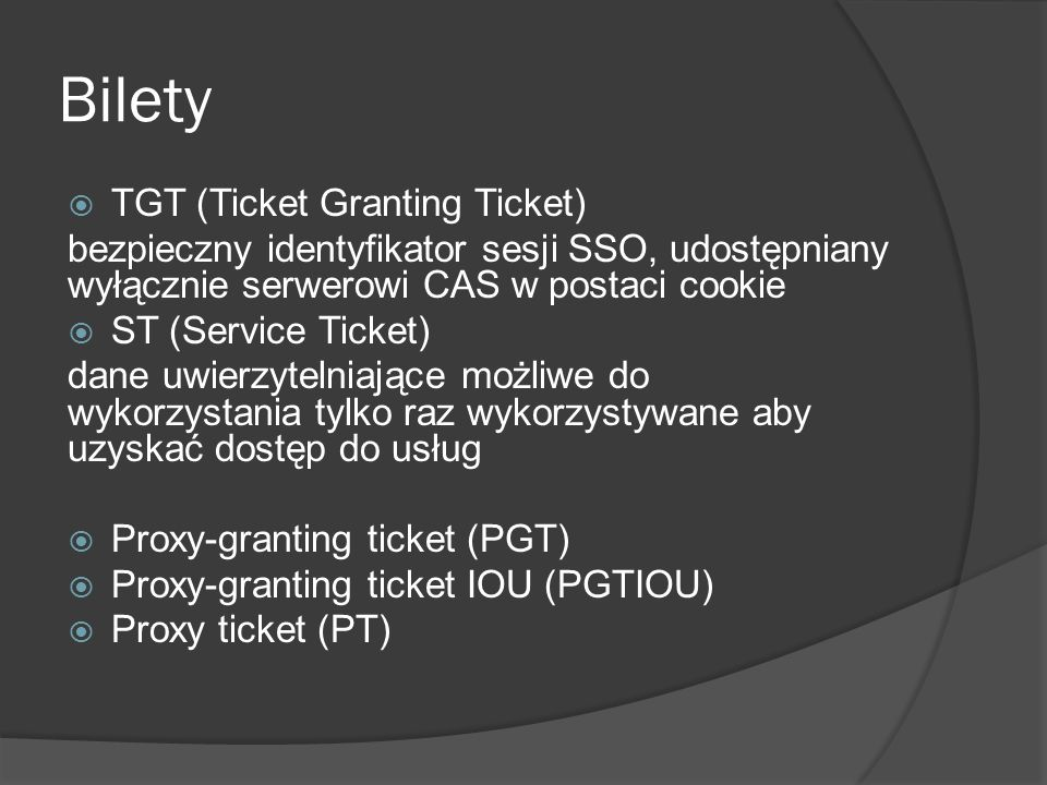 Bilety TGT (Ticket Granting Ticket)