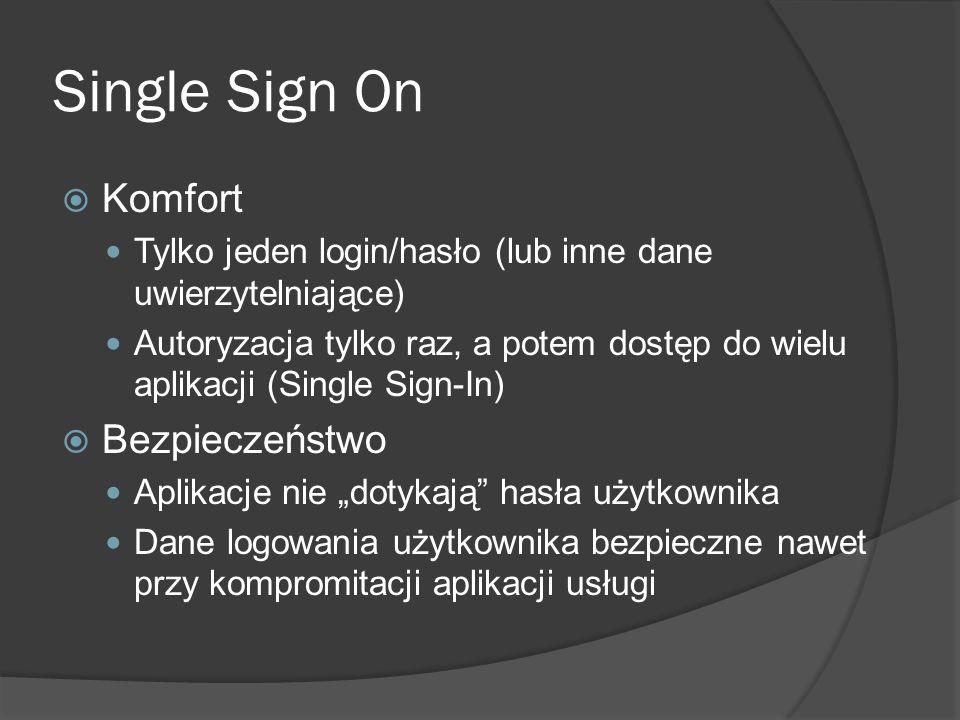 Single Sign On Komfort Bezpieczeństwo
