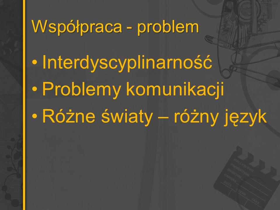 Interdyscyplinarność Problemy komunikacji Różne światy – różny język