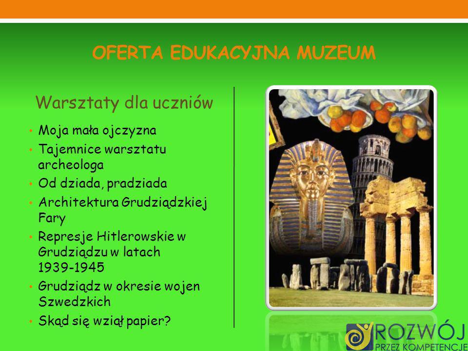 Oferta edukacyjna muzeum