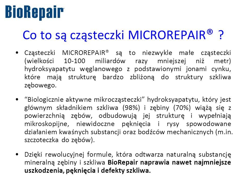 Co to są cząsteczki MICROREPAIR®