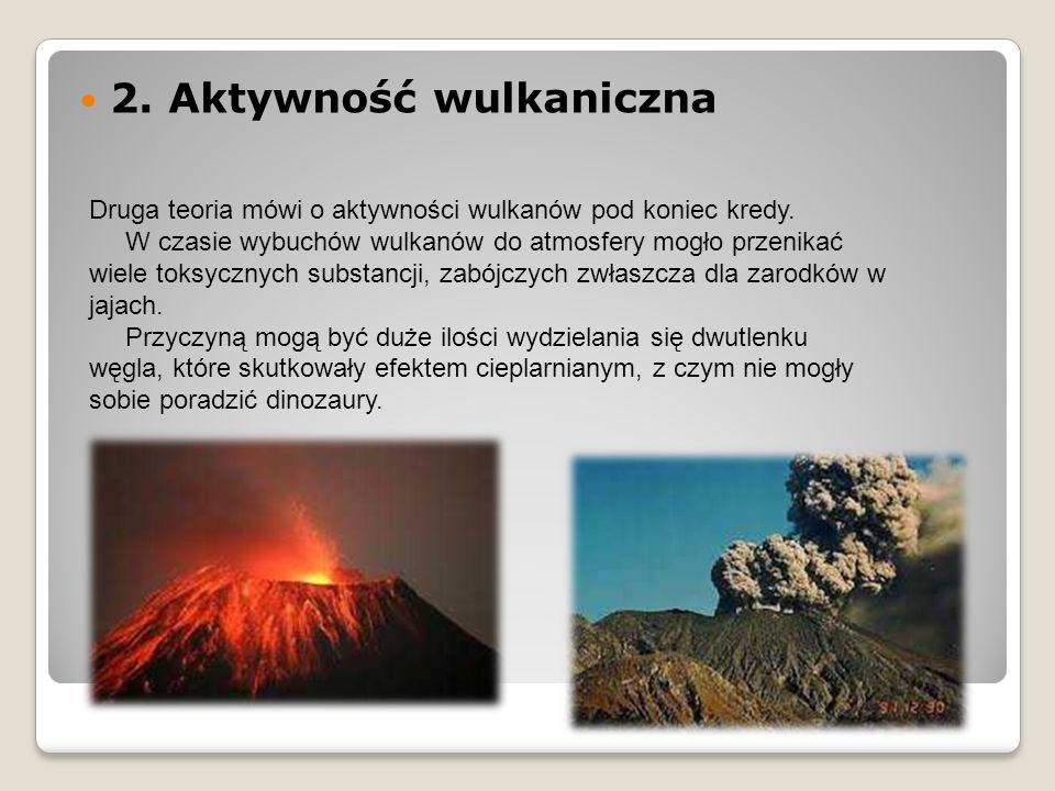 2. Aktywność wulkaniczna