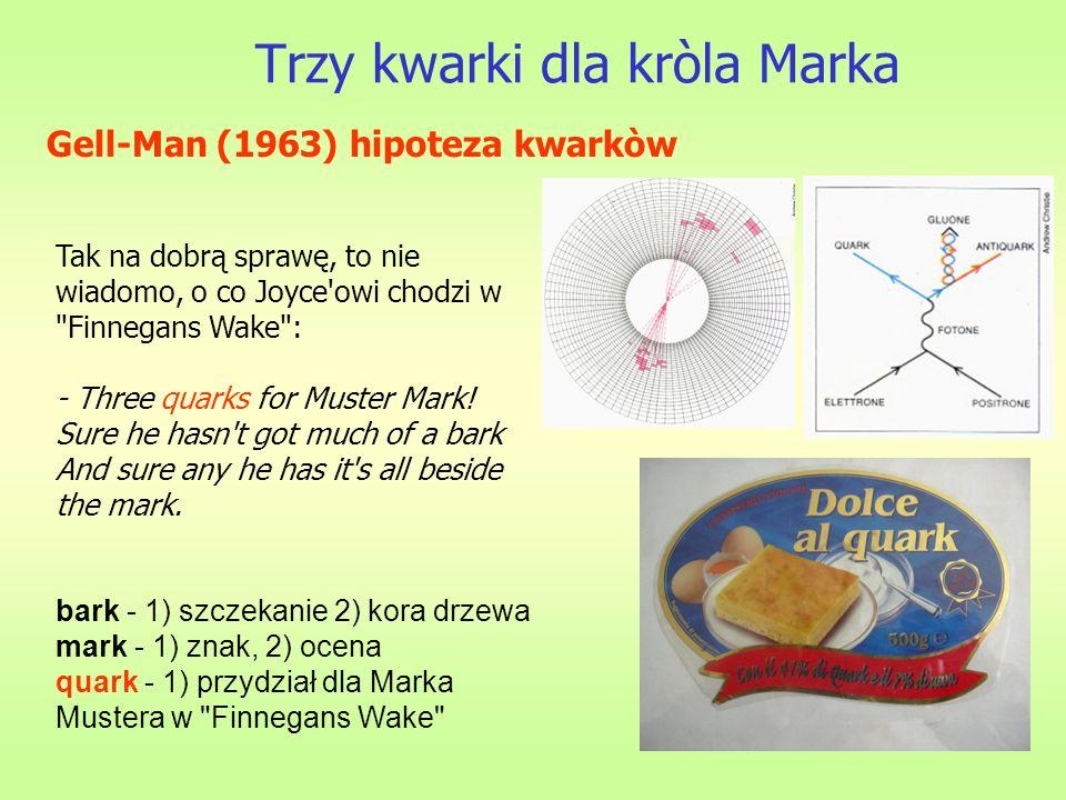 Trzy kwarki dla kròla Marka