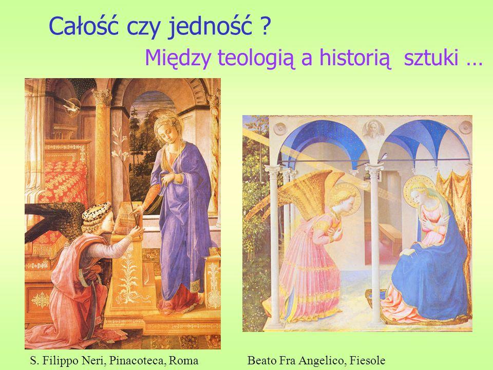 Całość czy jedność Między teologią a historią sztuki …