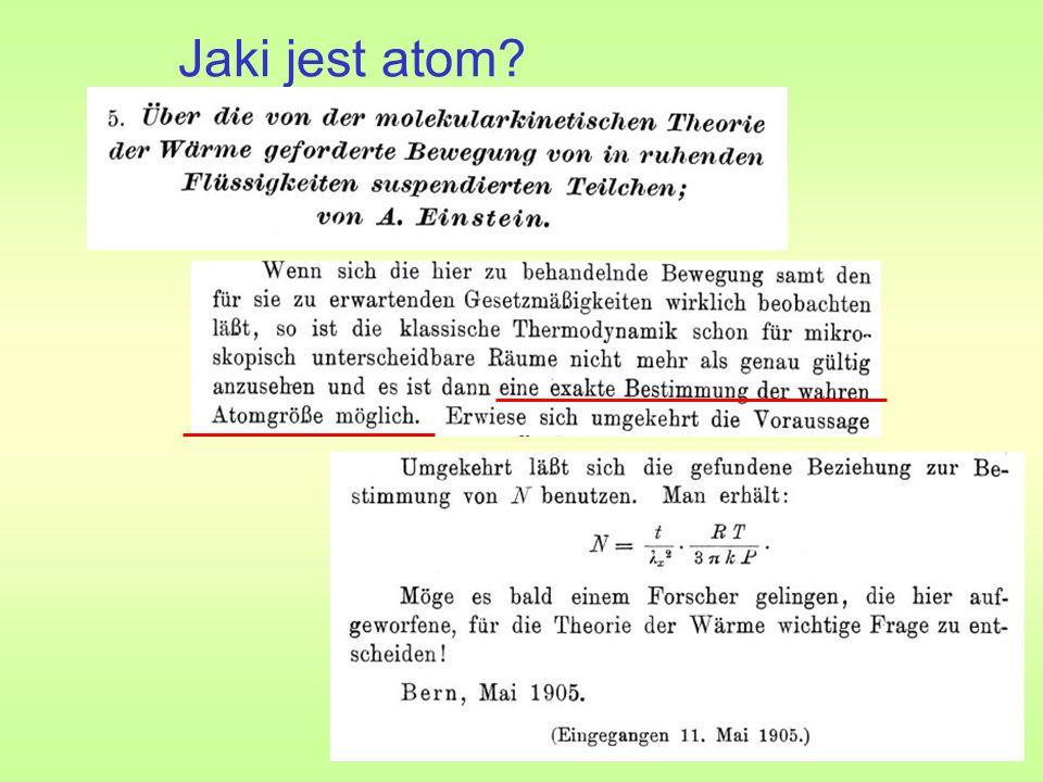 Jaki jest atom