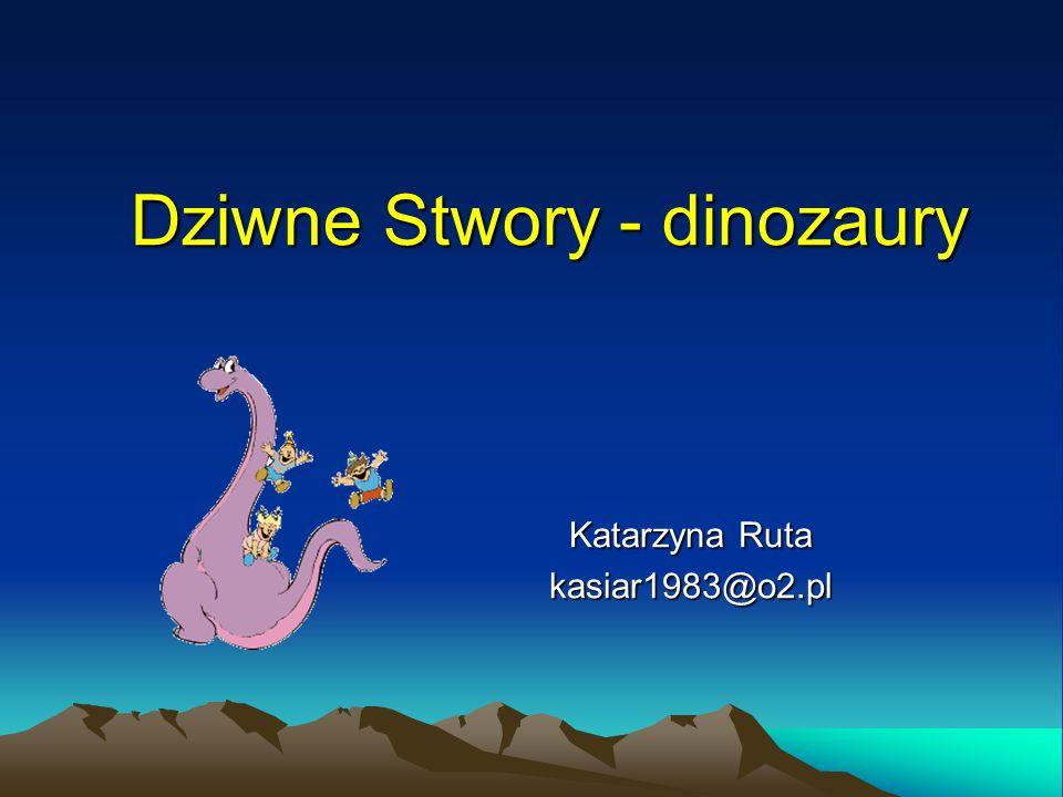Dziwne Stwory - dinozaury
