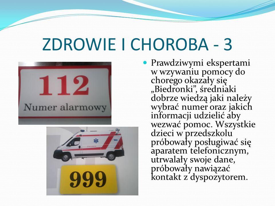 ZDROWIE I CHOROBA - 3