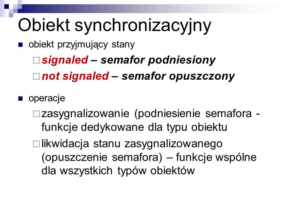 Obiekt synchronizacyjny