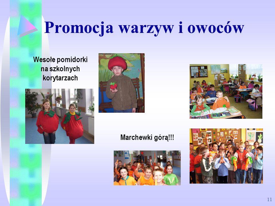 Promocja warzyw i owoców