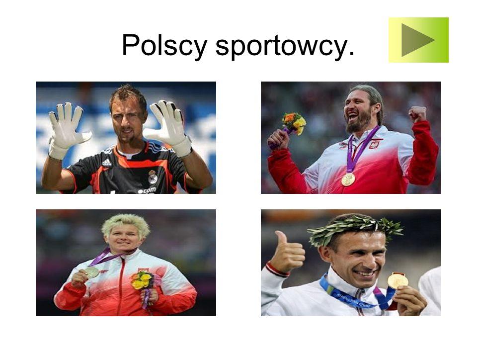 Polscy sportowcy.