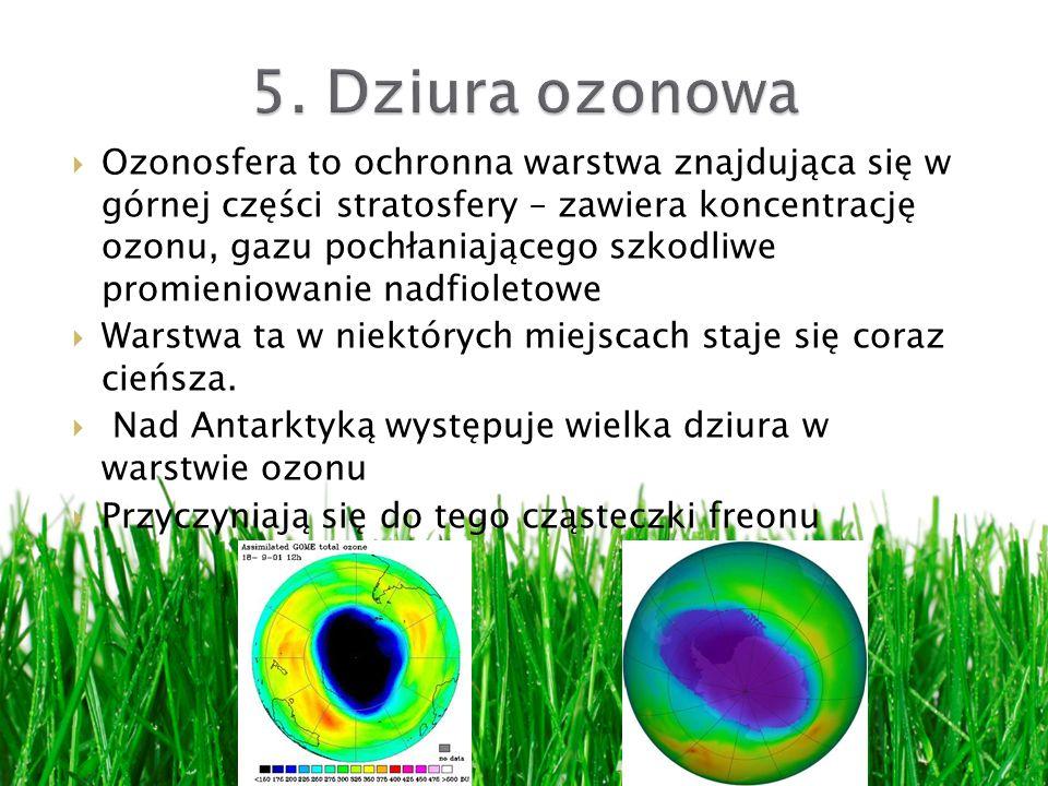 5. Dziura ozonowa