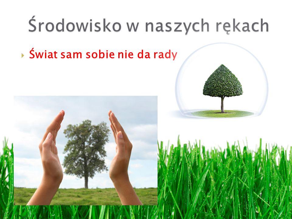 Środowisko w naszych rękach