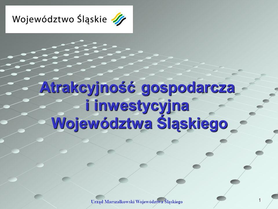 Atrakcyjność gospodarcza i inwestycyjna Województwa Śląskiego