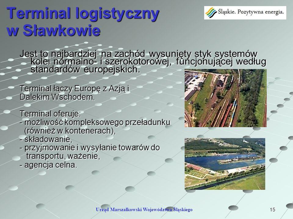 Terminal logistyczny w Sławkowie