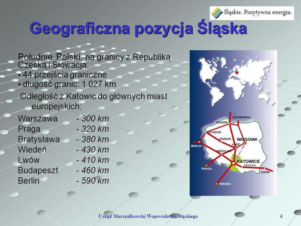Geograficzna pozycja Śląska