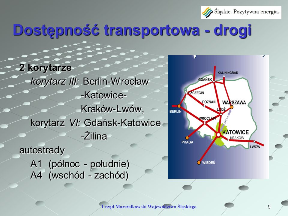 Dostępność transportowa - drogi