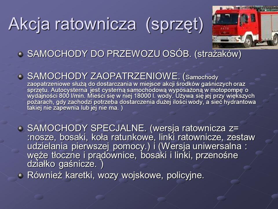 Akcja ratownicza (sprzęt)