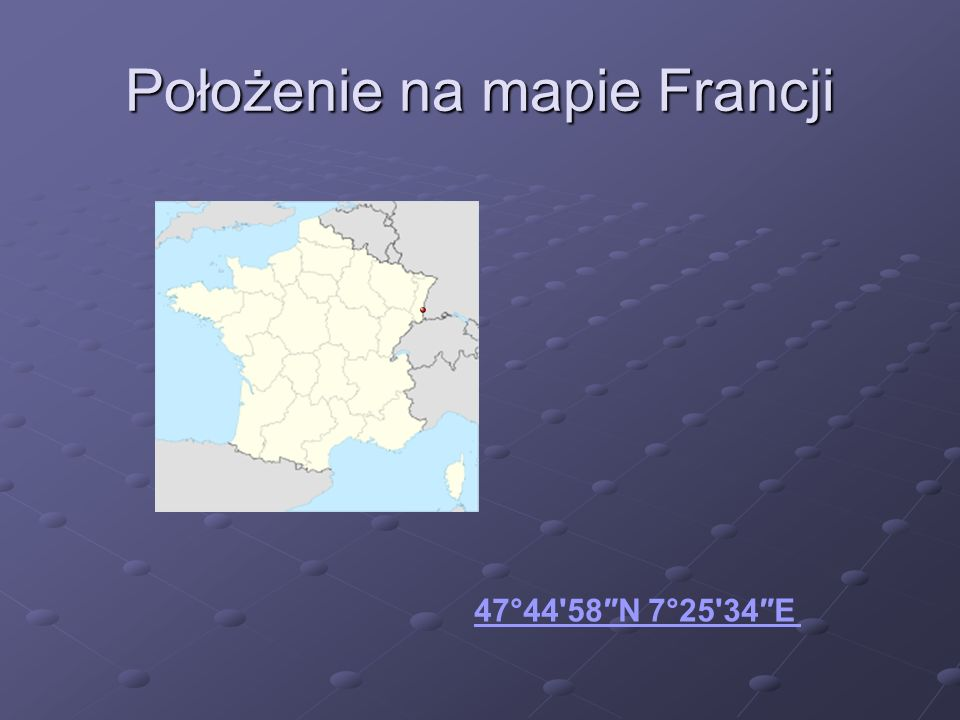 Położenie na mapie Francji