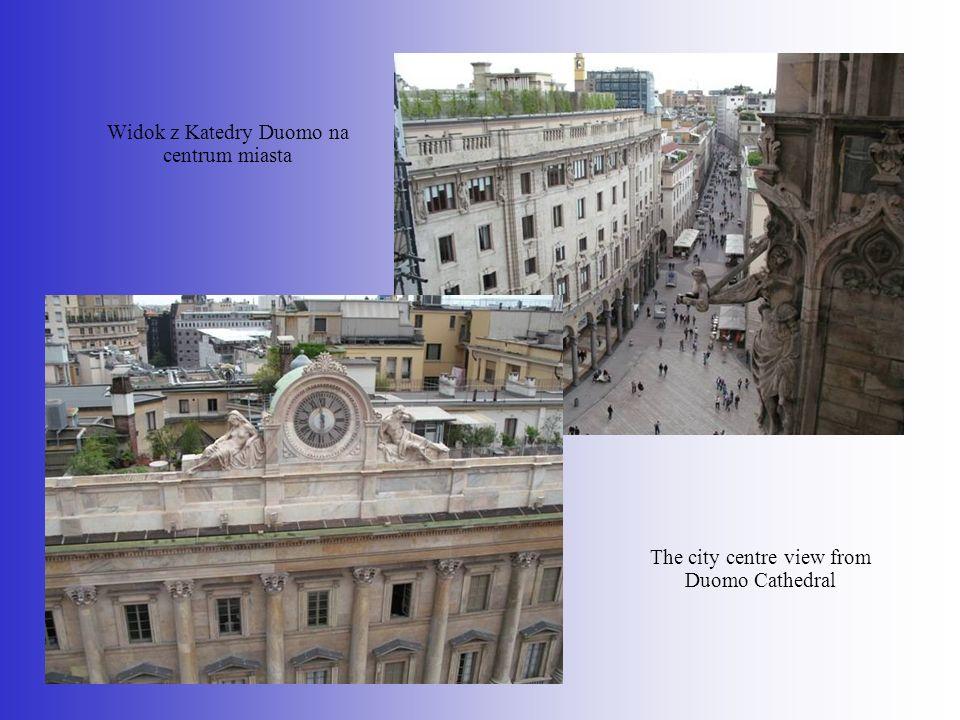 Widok z Katedry Duomo na centrum miasta